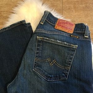 Lucky Jeans Sweet n' Low Dark Wash Jeans